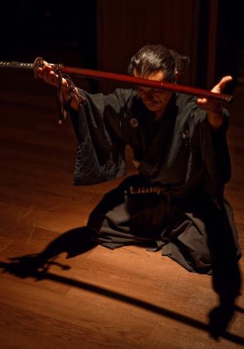 リアル サムライ ショー Japanese samurai katana